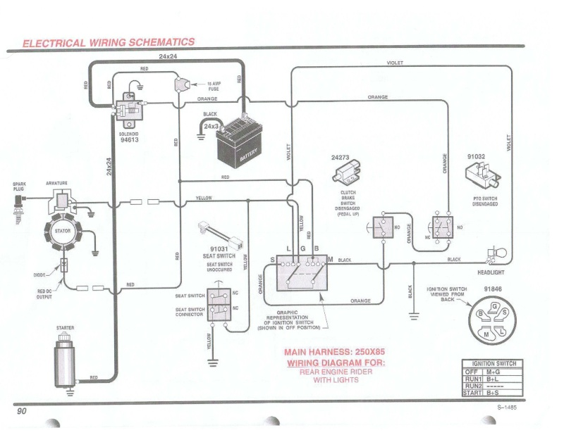 Wiring Diagram For A Brigs And Stratton 287707