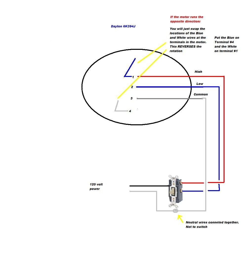 Hunter 3 Speed Fan Switch Wiring Diagram from schematron.org
