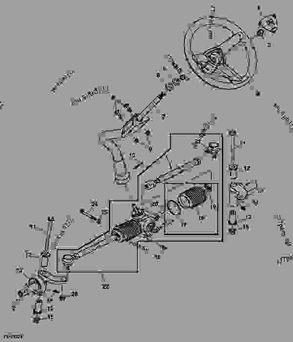 Wiring Diagram For A John Deere Z225 Lawn Mower