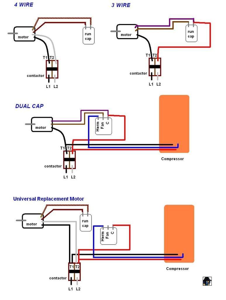 Wiring Diagram For Ac Fan Motor D908 on