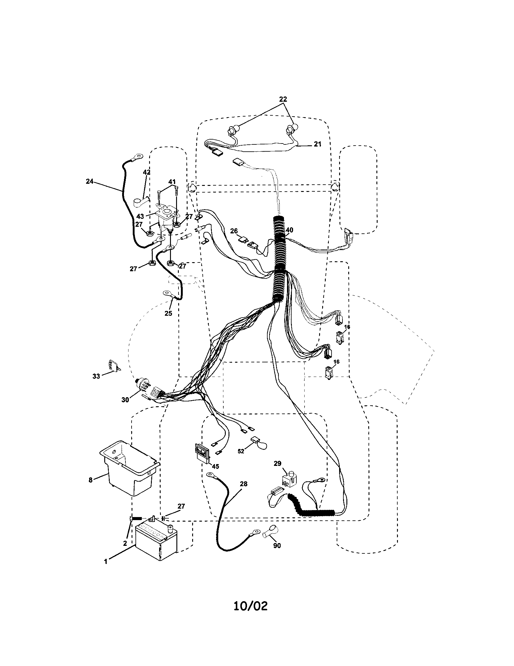 Wiring Diagram For Craftsman Lt1500 Riding Mower