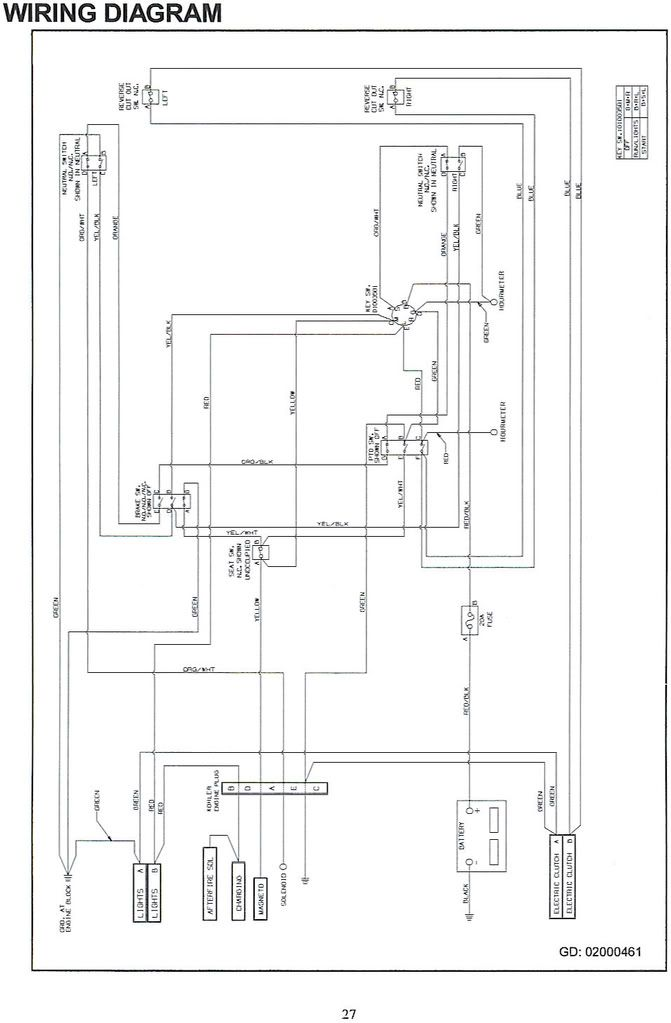 Wiring Diagram For Cub Cadet Rzt 50
