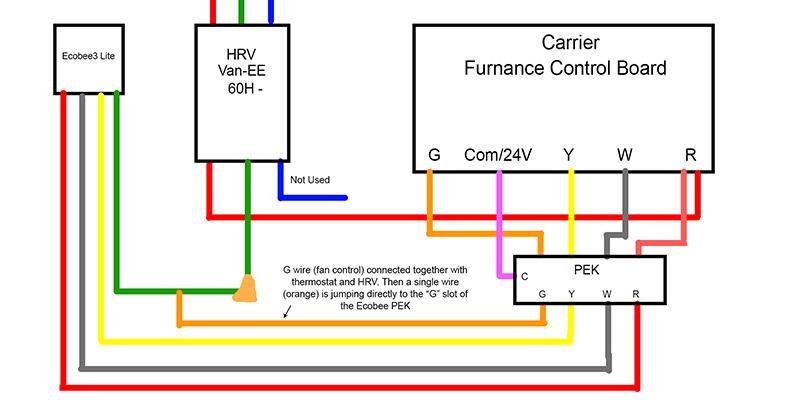 Wiring Diagram For Ecobee Power Extender Kit