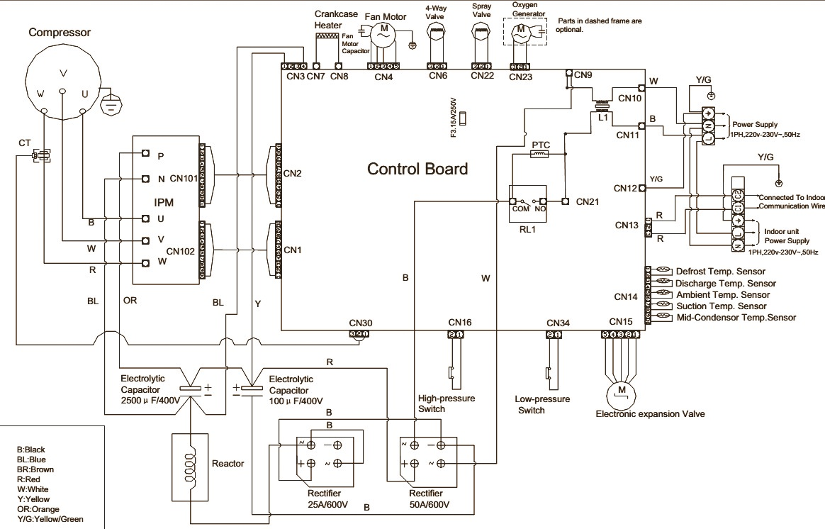 Wiring Diagram For Haier Air Conditioner