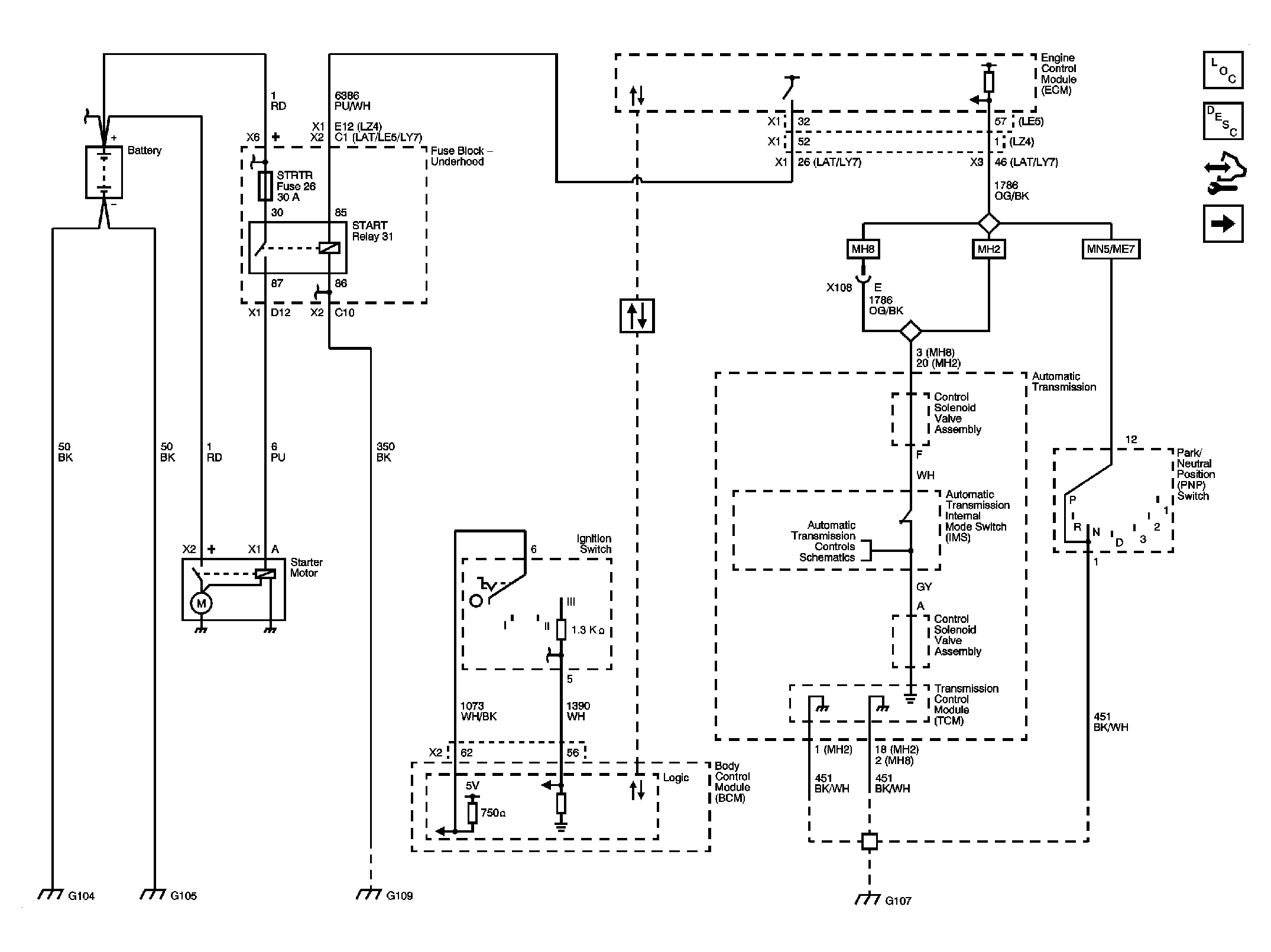 Wiring Diagram For Ignition Switch On 2006 Chevy Malibu 2