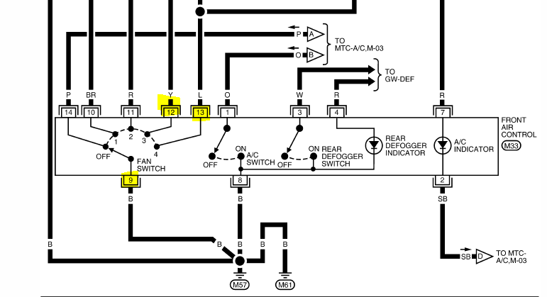 Wiring Diagram For Ignition Switch Wires On A 1992 Nissan Pathfinder Xe6
