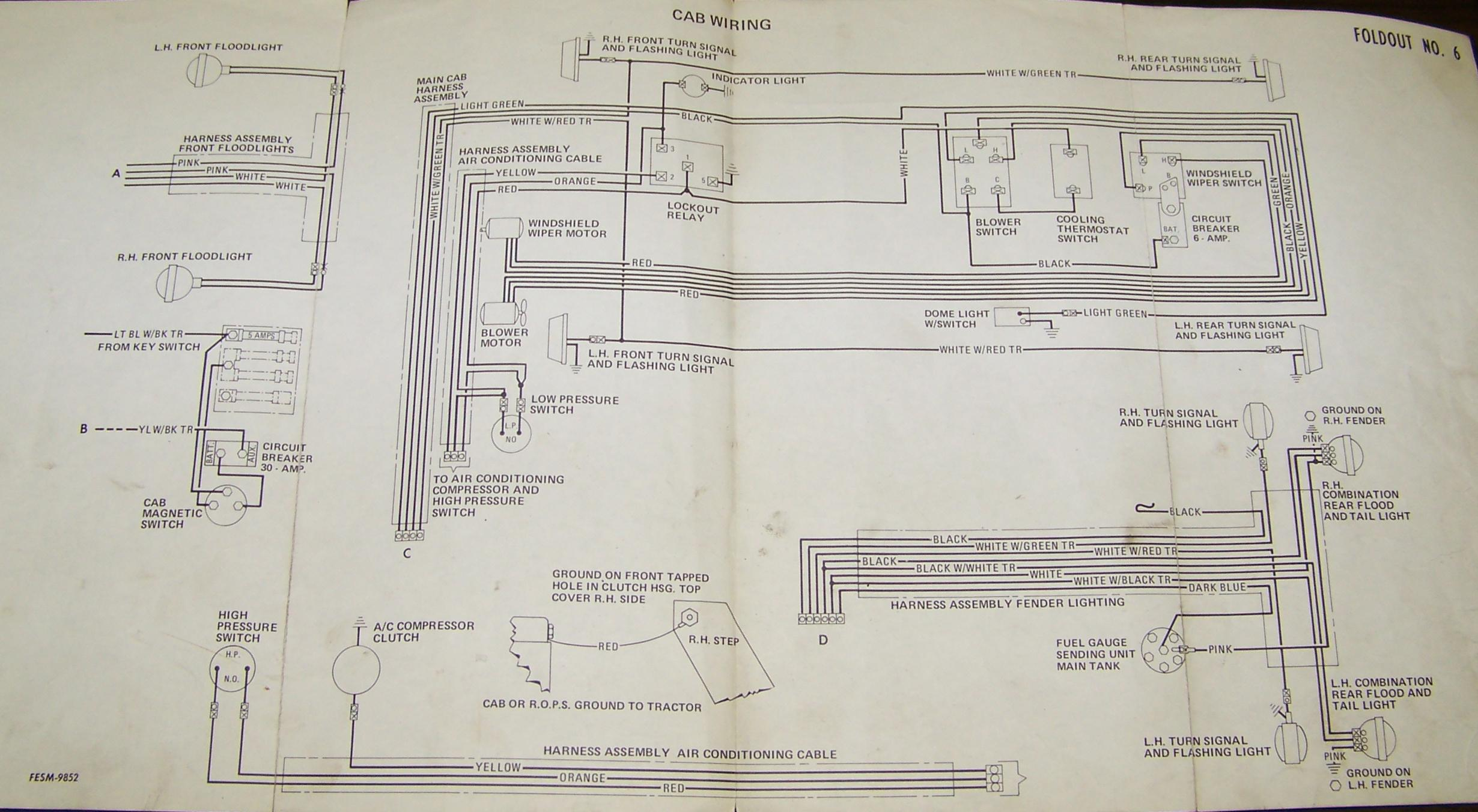 Wiring Diagram For Ih656