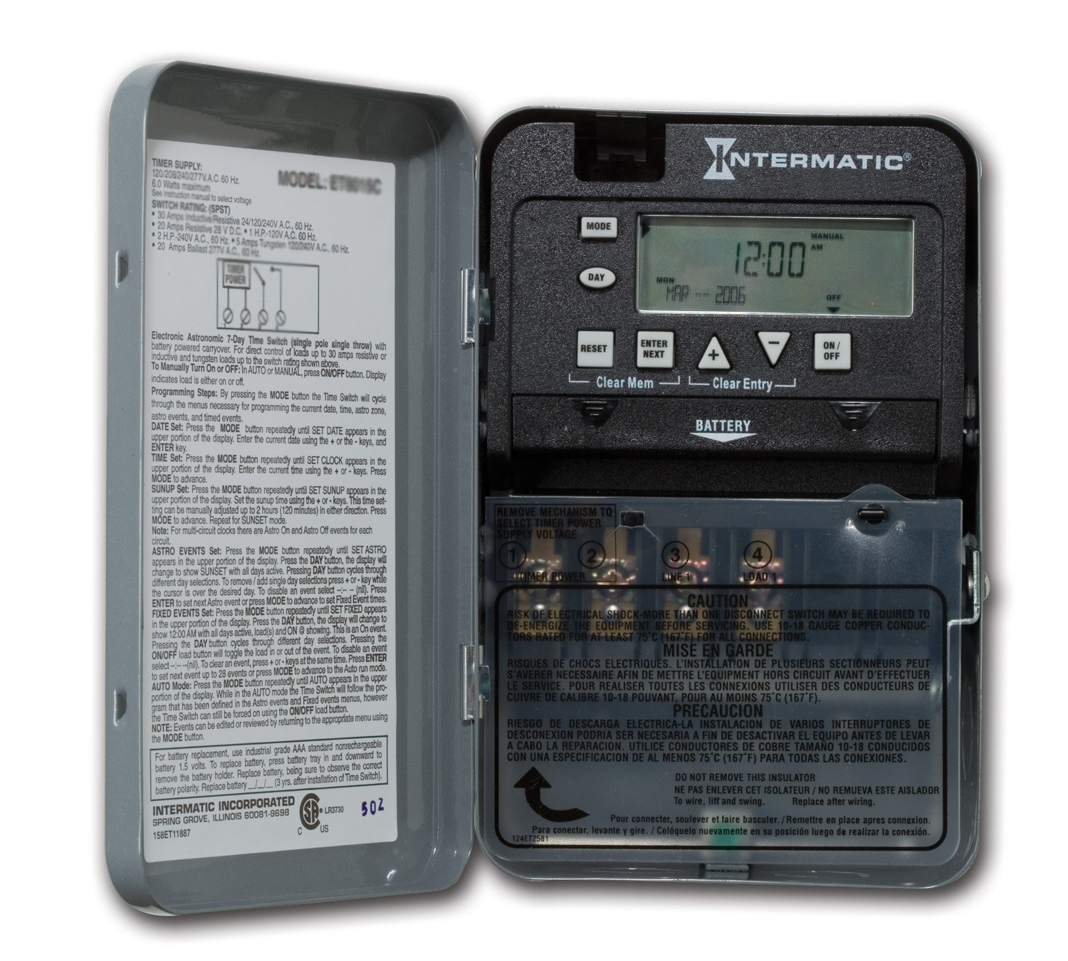 Wiring Diagram For Intermatic Timers