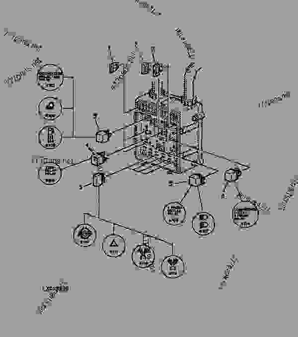 wiring diagram for john deere x300