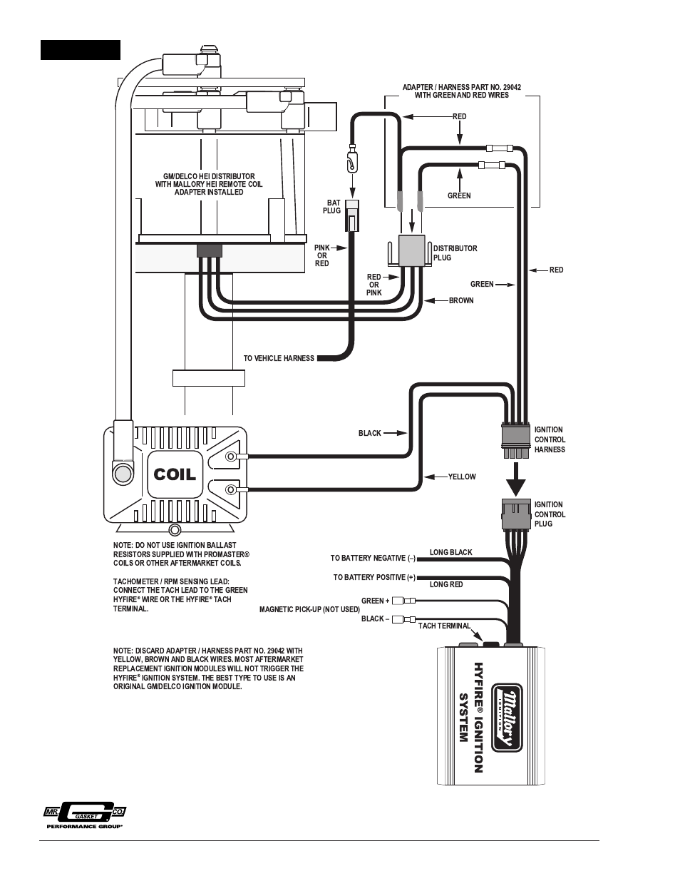 Wiring Diagram For Mallory 29026 Hyfire Ignition on