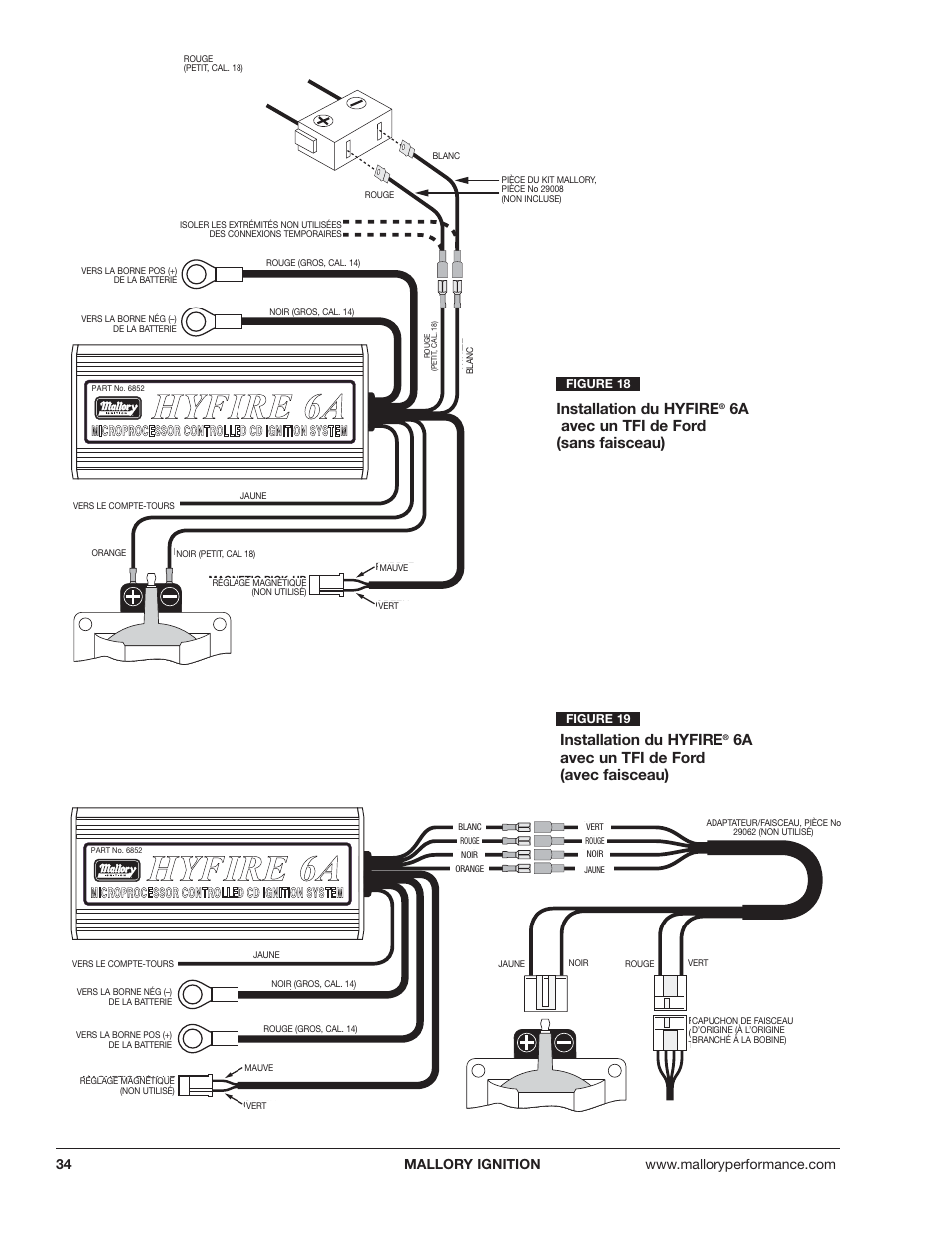 Mallory Ignition Hyfire Wiring Diagram