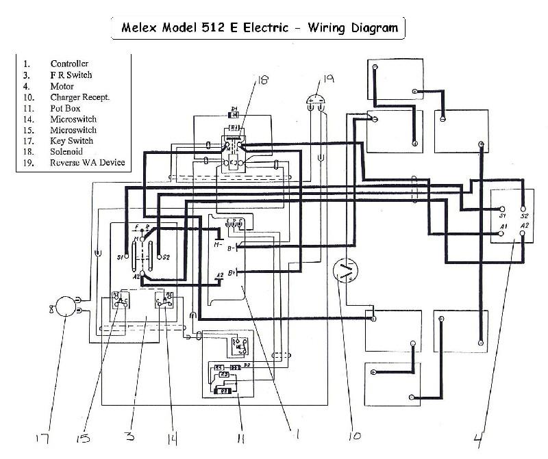 Wiring Diagram For Melex Model 252