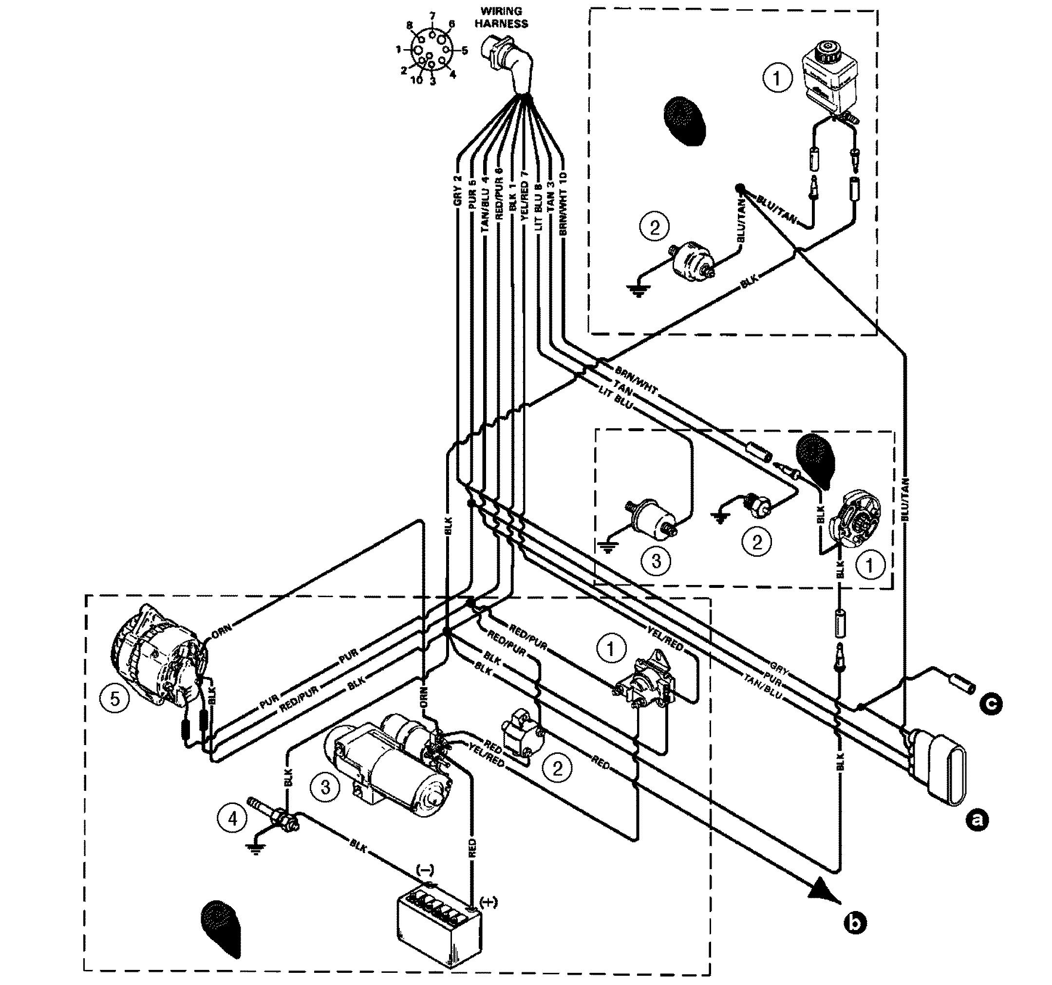 Wiring Diagram For Mercruiser 4 3