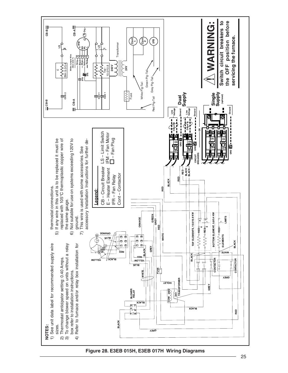 Wiring Diagram For Nordyne Model  S3ba