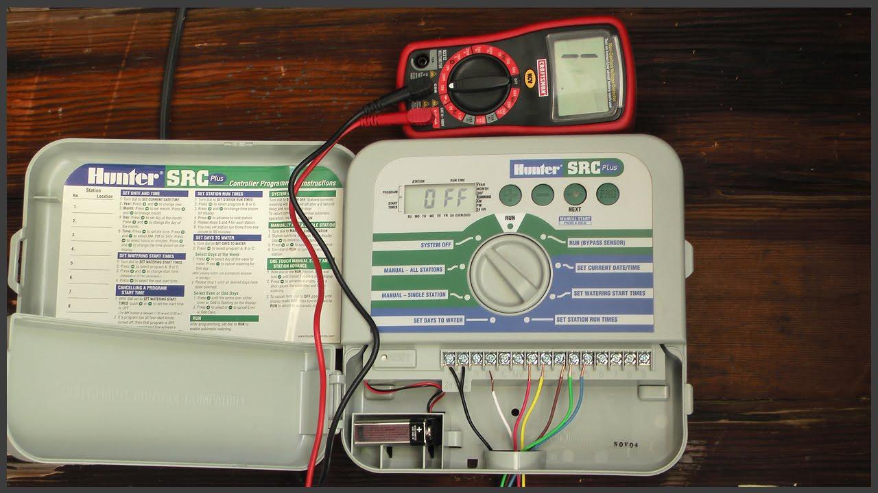 wiring diagram for orbit sprinkler system Orbit Pump Start Relay Wiring Diagram