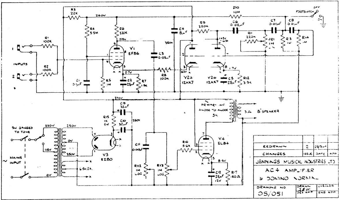 Wiring Diagram For Peavey Classic 1970 Solid State Hybrid