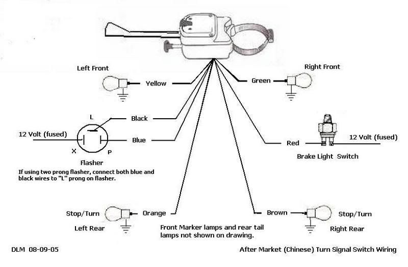 wiring diagram for turn signal flasher on 2014 can am mavrick Horn Wiring Diagram