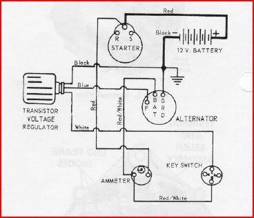 Wiring Diagram For Voltage Regulator Delco 10si