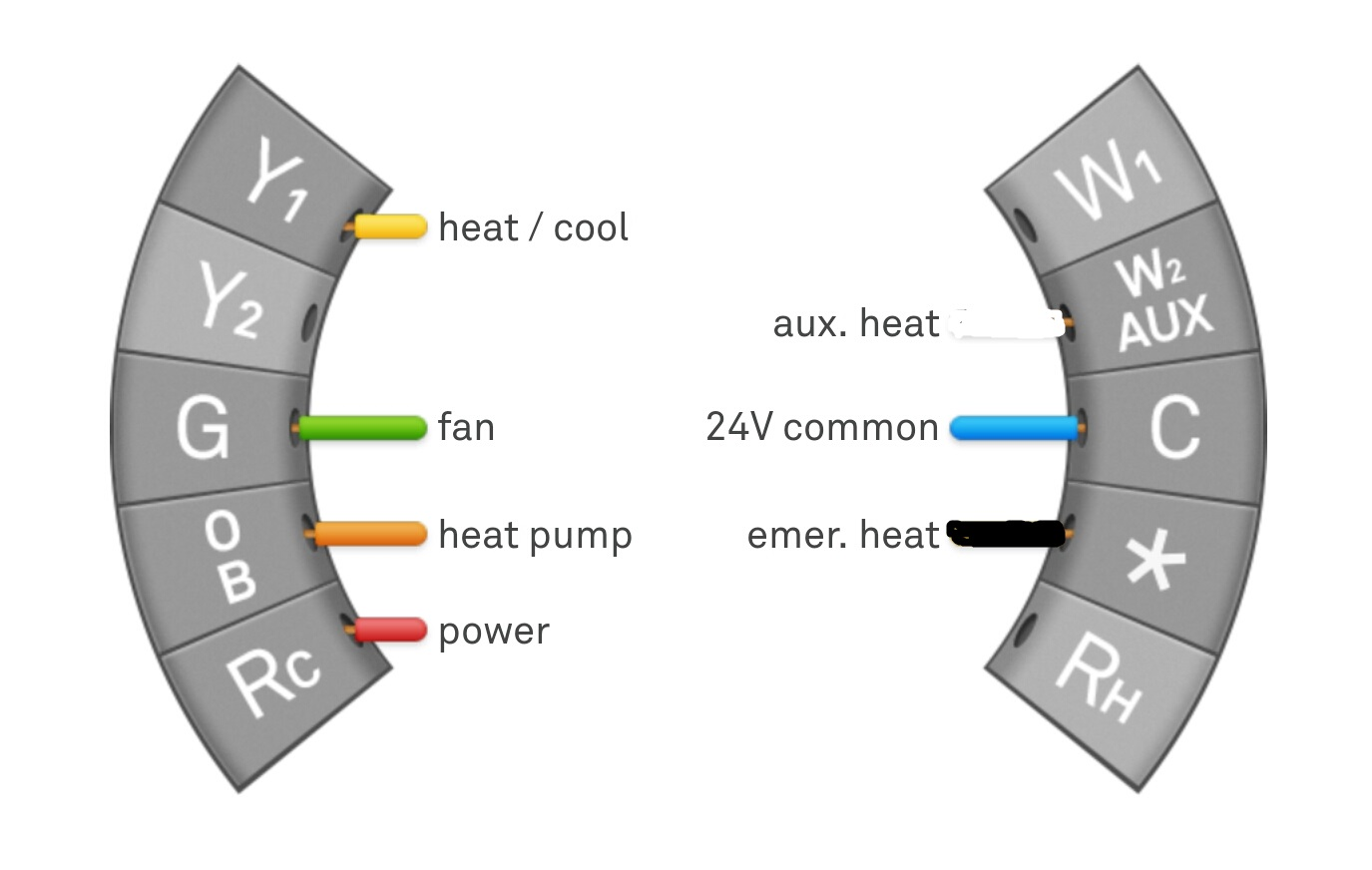 Wiring Diagram For York Heat Pump To Nest Thermostat on