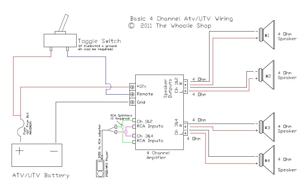 Wiring Diagram Intimidator Utv Turn Signal
