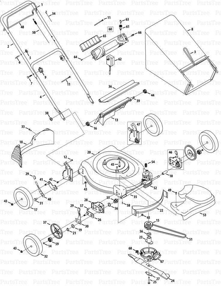 Wiring Diagram Kobalt Electric Lawn Mower