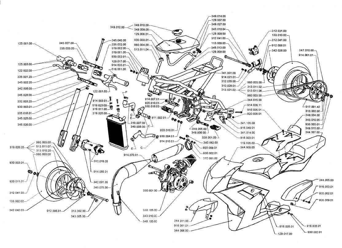 Wiring Diagram Kurbside Kmart Pocket Bike