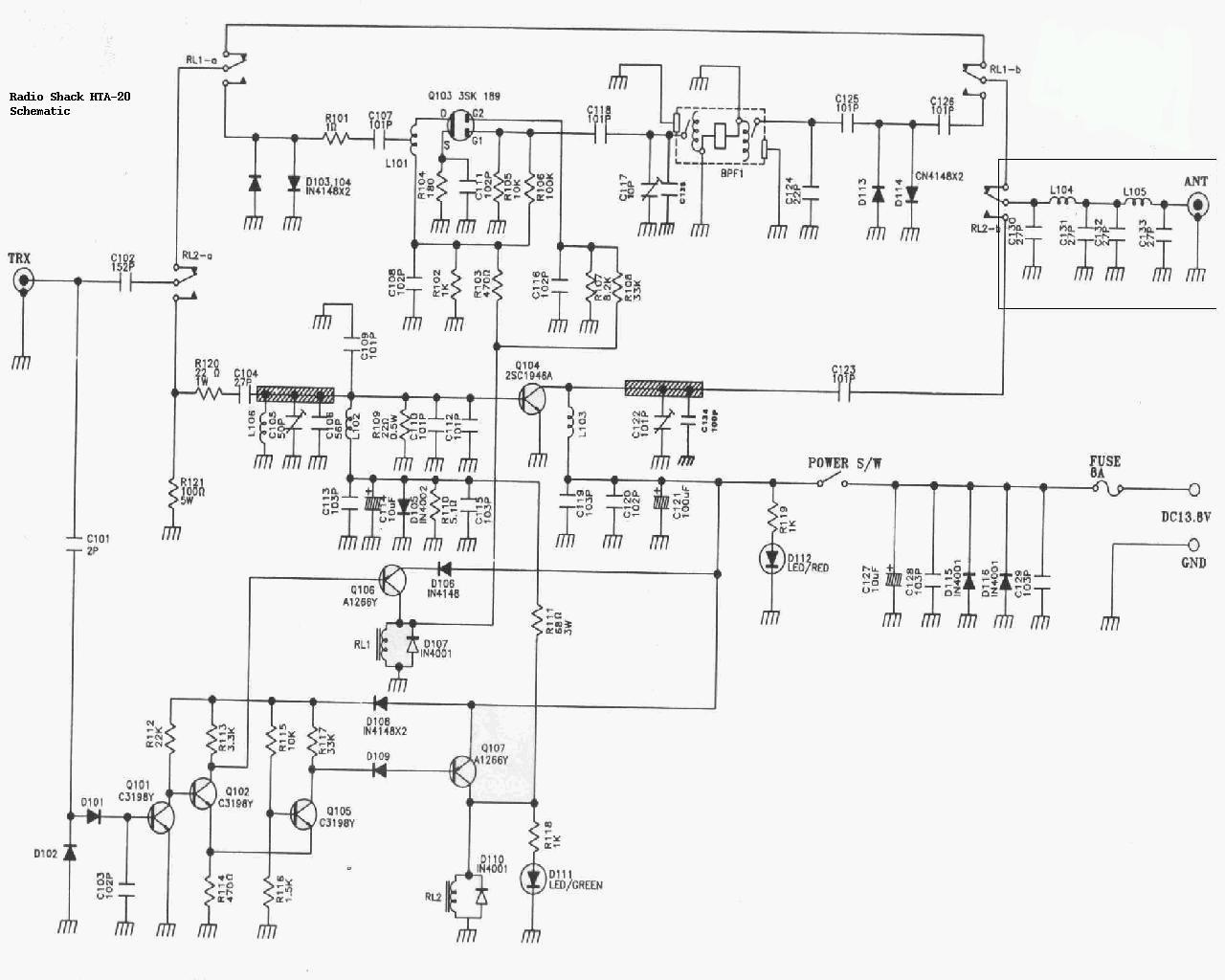 Wiring Diagram Realistic Model 12