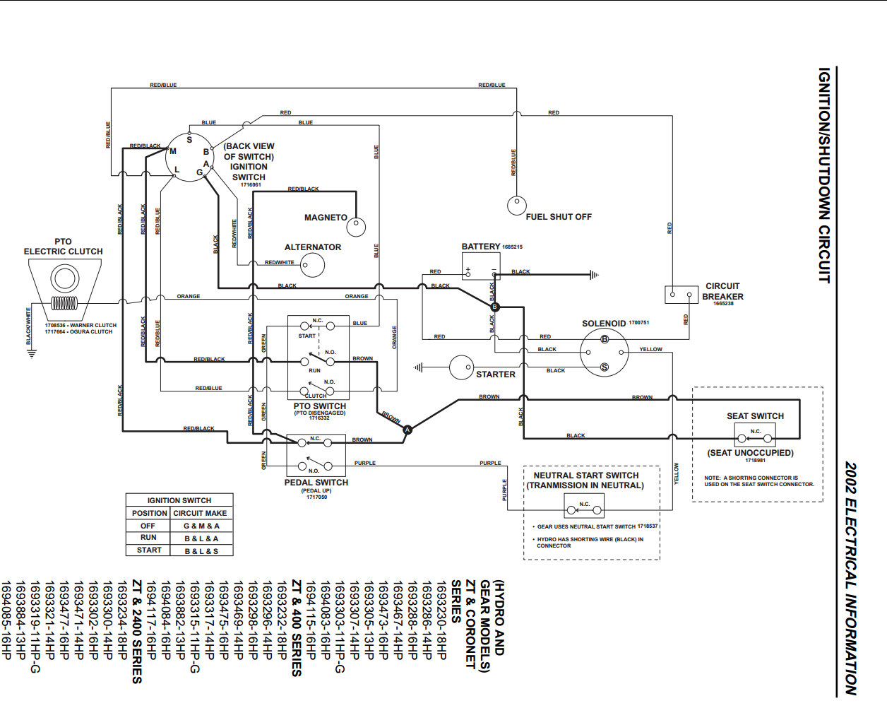 Wiring Diagram Simplicity Tractor 3416h