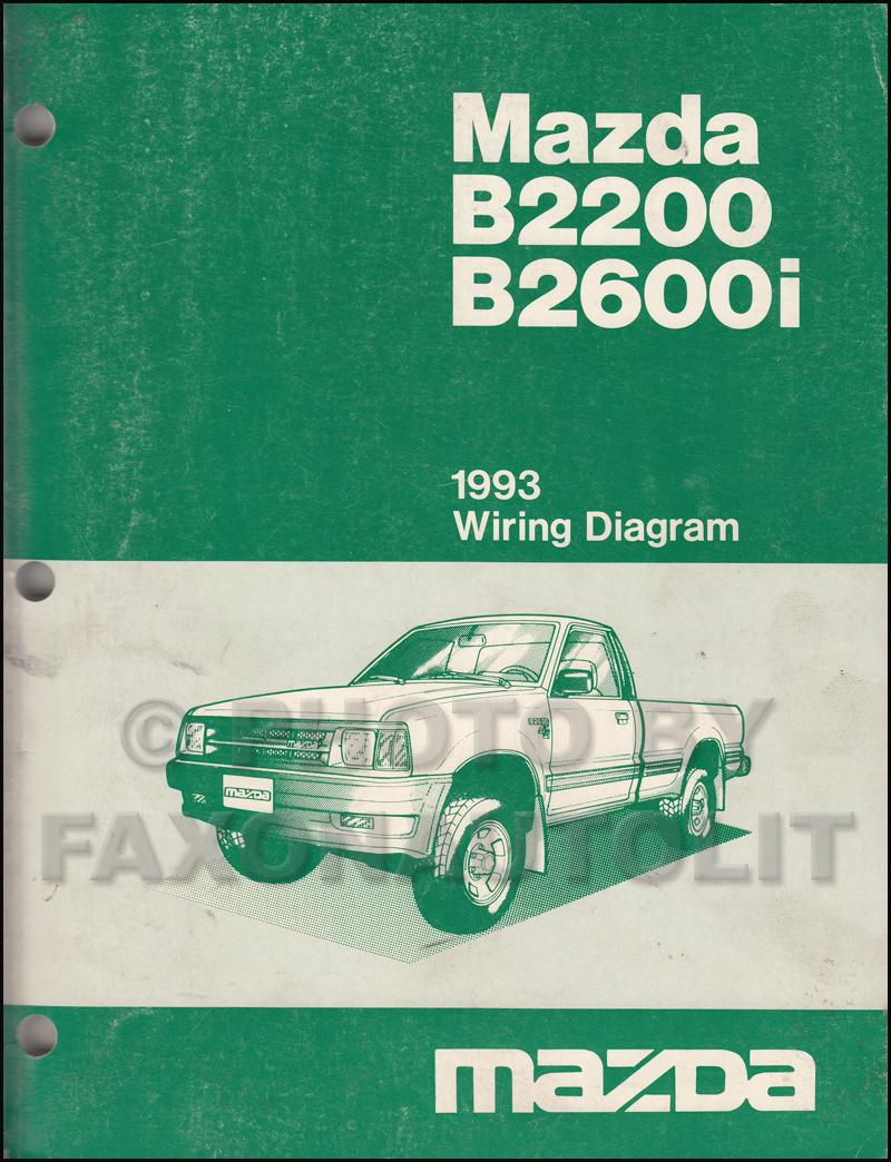 Wiring Diagram Temperature 1993 Mazda Pickup B2600