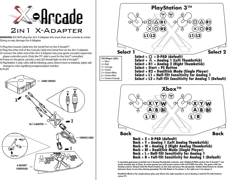 x arcade tankstick wiring diagram
