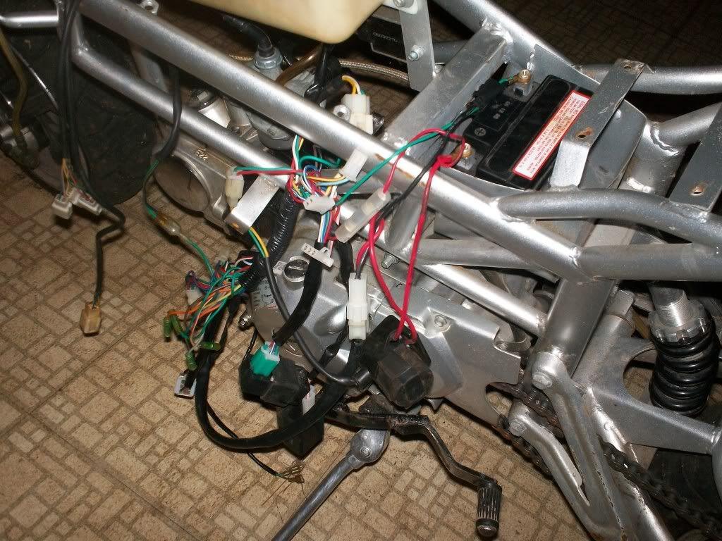 X1 Pocket Bike Wiring Diagram