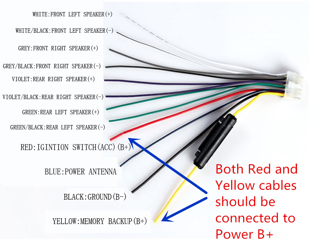 Xo Vision Xd107 Wiring Diagram For The Boot