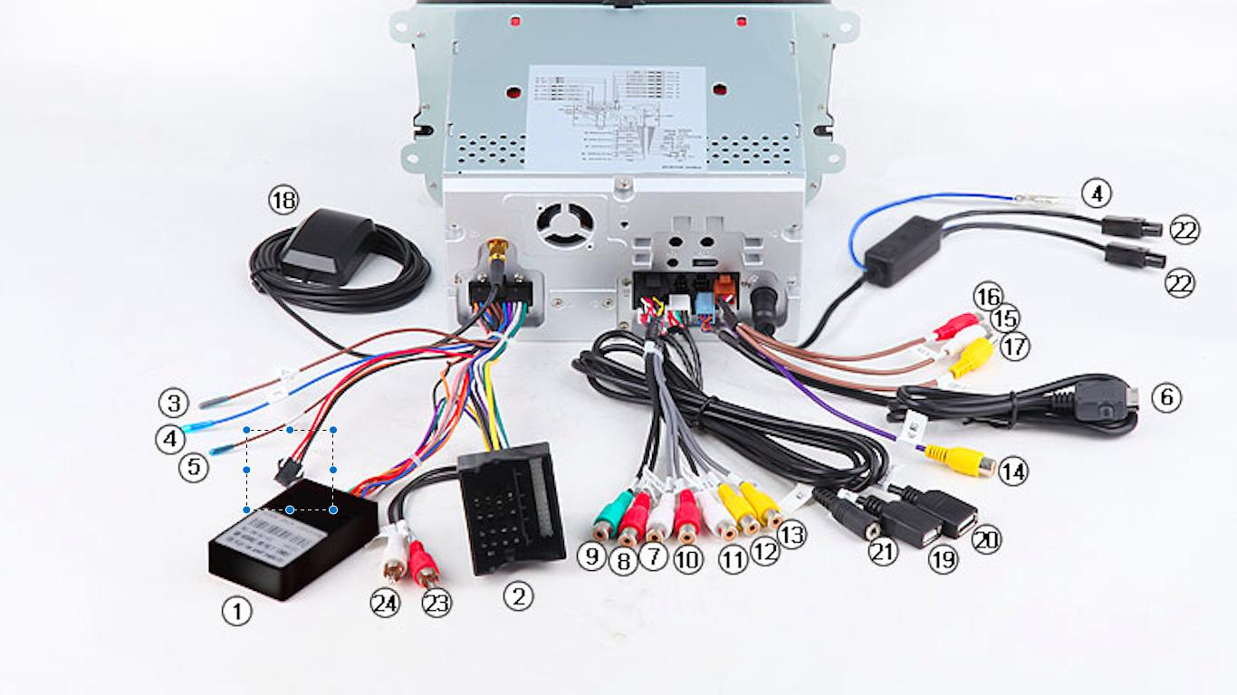 Xtrons Double Din Wiring Diagram