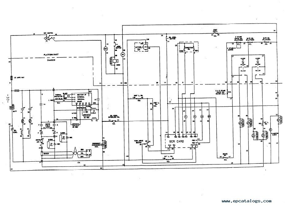 Yale Glc050 Main Coil Wiring Diagram