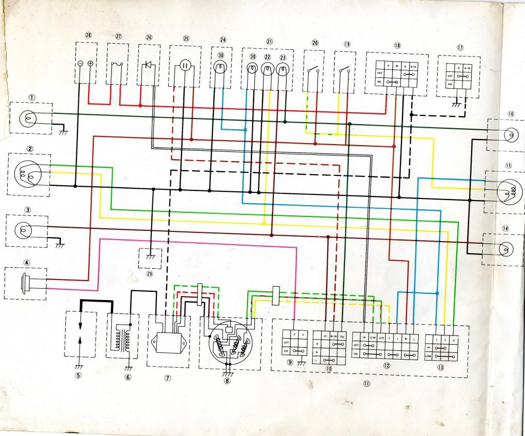 Yamaha Dt 175 Wiring Diagram on