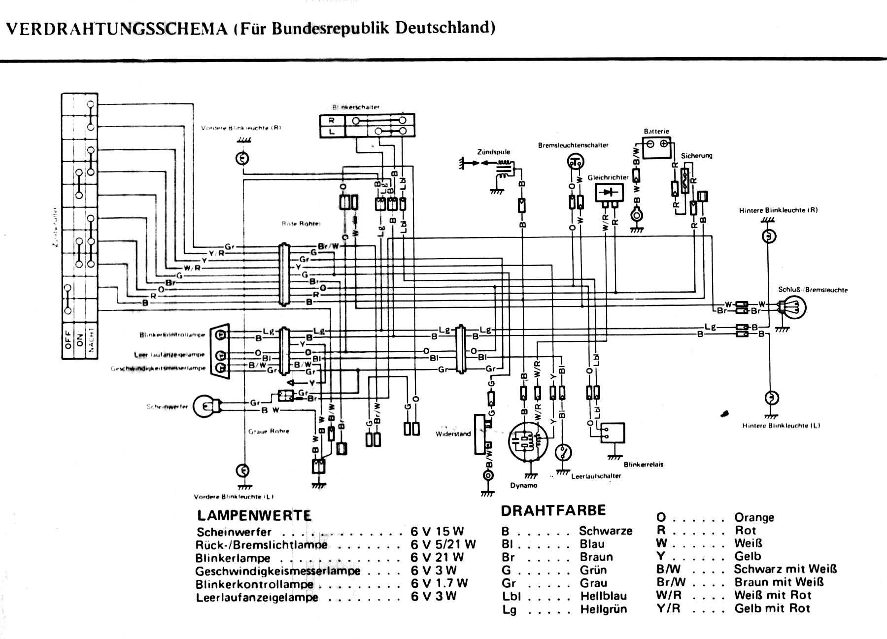 Yamaha Mx 830 Wiring Diagram on