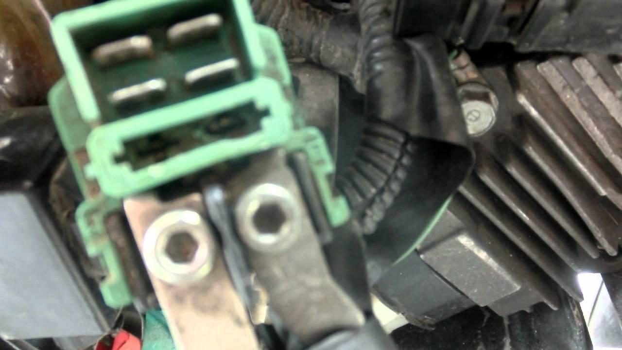 Yamaha Virago 1000 Starter Relay Wiring Diagram