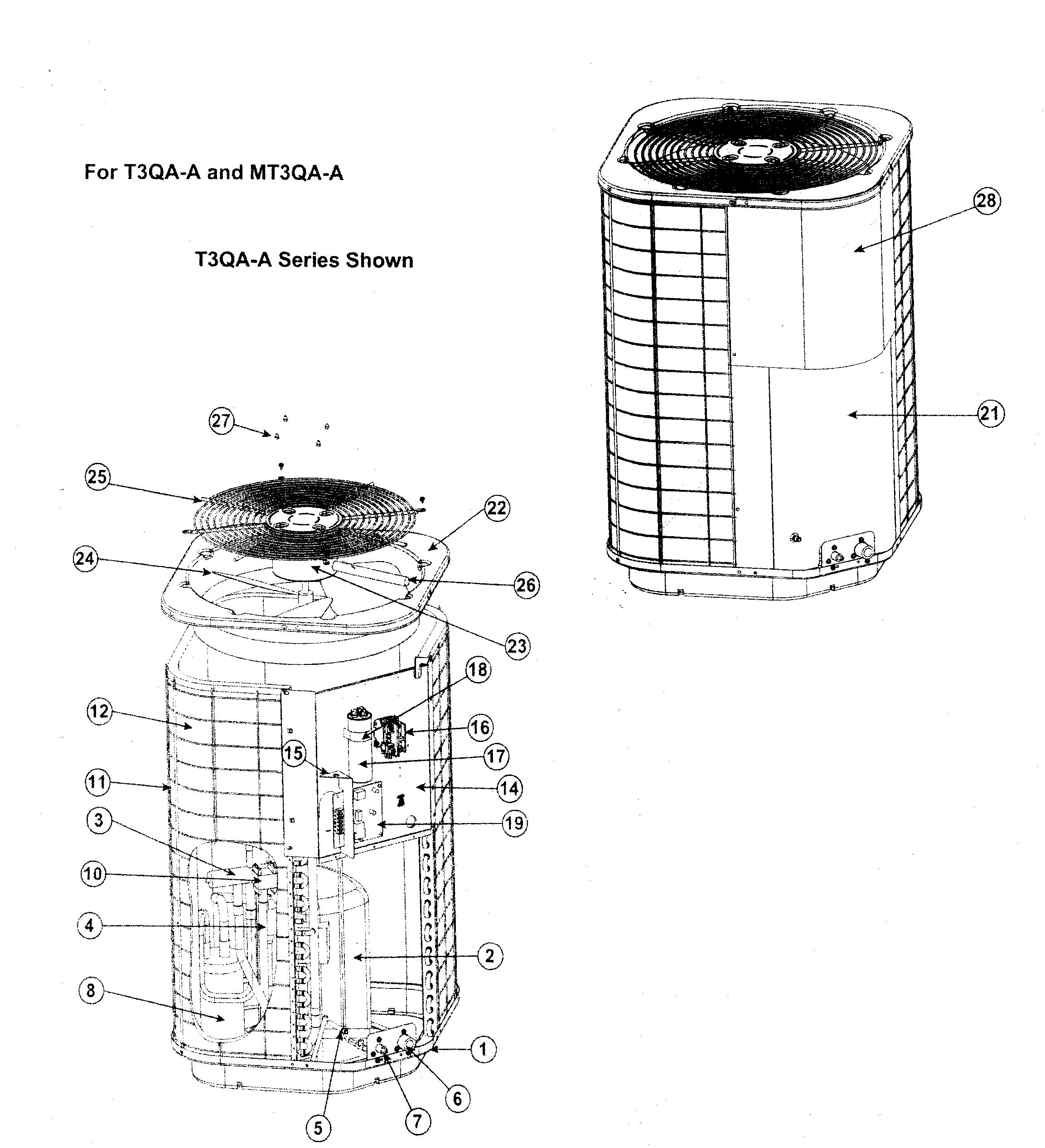 York Model H2rd036s06b Wiring Diagram